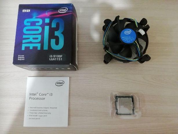 Материнская плата + процессор (MSI H310 + I3 9100F)