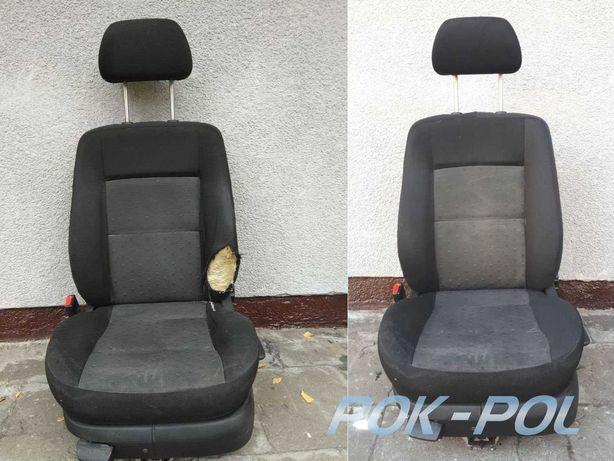 Naprawa  tapicerki  foteli samochodowych, regeneracja tapicerek