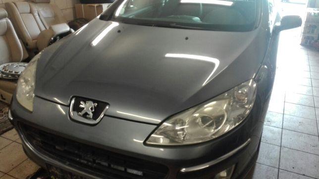 Lampa przód Peugeot 407