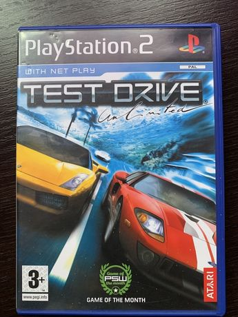 Test Driver Unlimited PS2