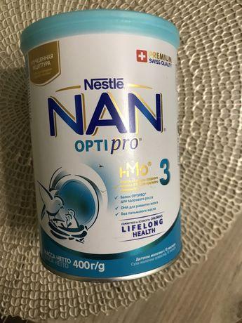 NAN optipro 3 400 гр