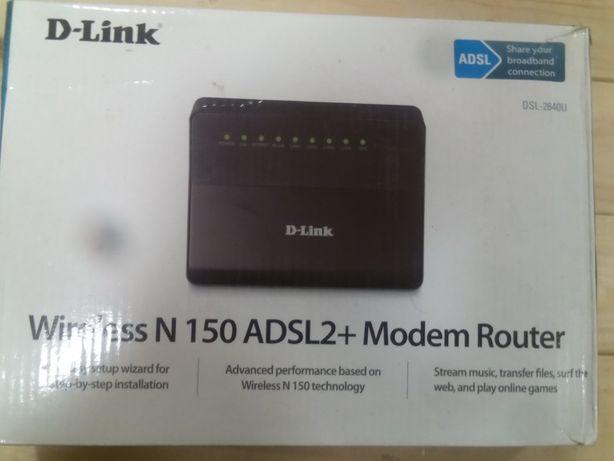D-link модем-роутер dsl-2640u для Укртелекома