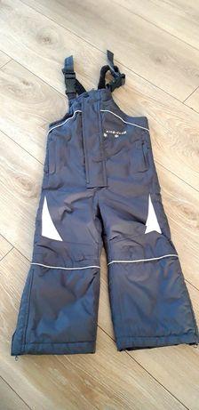 Spodnie narciarskie kombinezon zimowy
