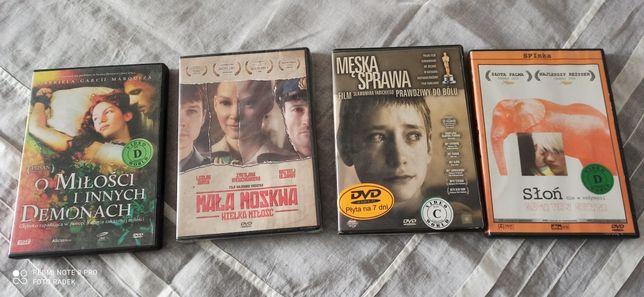 Dvd filmy Mała Moskwa, słoń, o demonach, męska sprawa