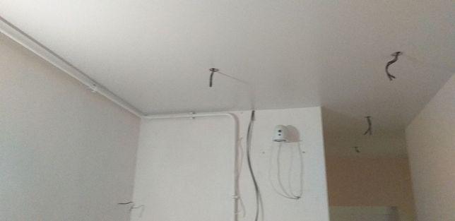 Натяжные потолки 160грн цена с работой и материалом