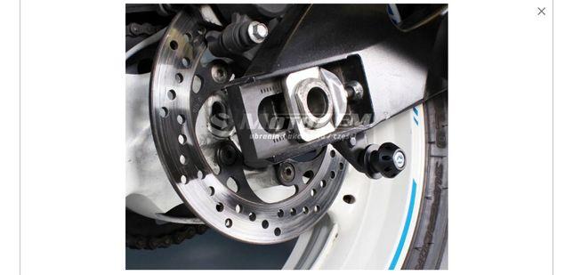 ROLKI wahacza pod stojak podnosnik M6 Yamaha Triumph Aprilia
