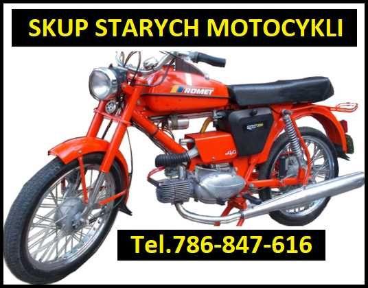 SKUP STARYCH MOTOCYKLI / Mz Etz/Jawa/Motorynk/Wsk/Simson/Shl