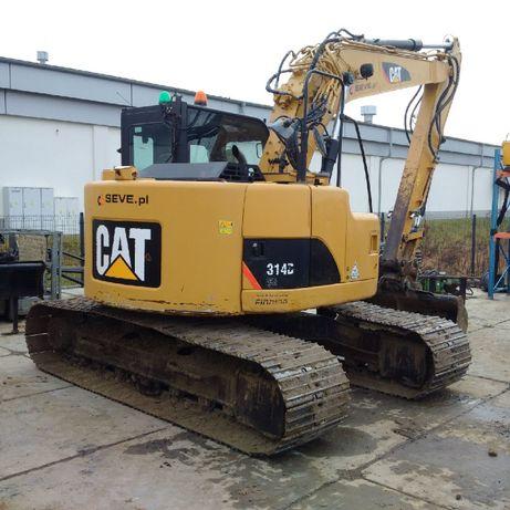 Koparka gąsienicowa Cat Caterpillar 314 D 17 ton krótka rufa zts