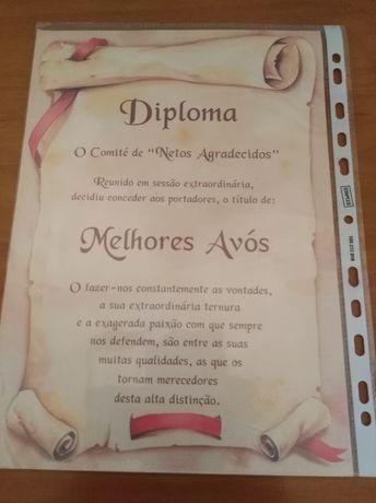 Diploma para os avós