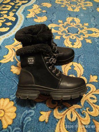 Зимние ботинки женские 37р.