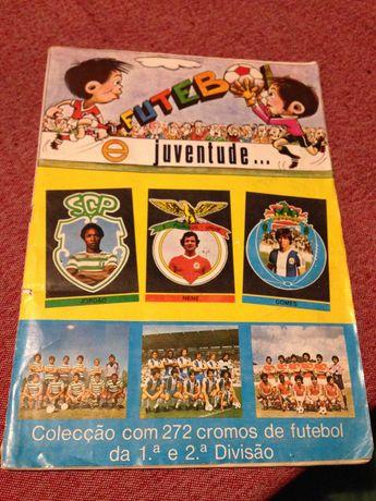 caderneta futebol completa