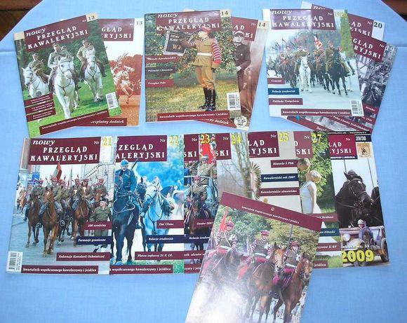 Gazeta Nowy Przegląd Kawaleryjski 10 numerów + kalendarz 2009