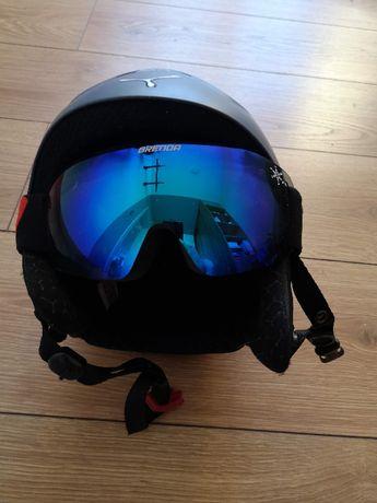 Kask (CEBE) + google narciarskie (Brenda)