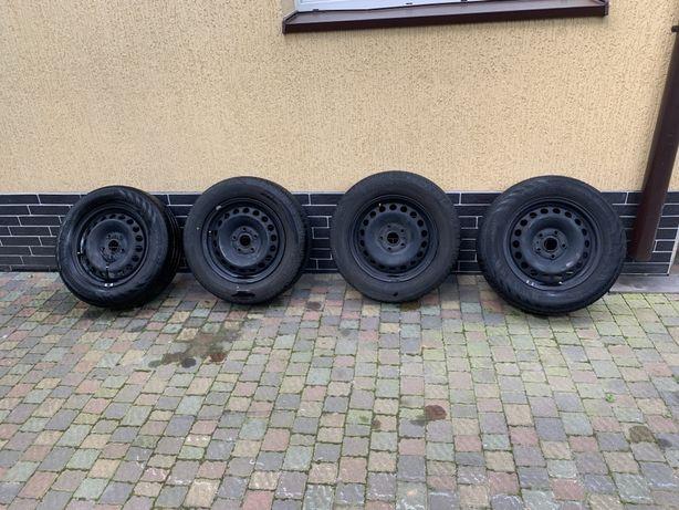 """Диски + резина Volkswagen 15"""" 5x112"""