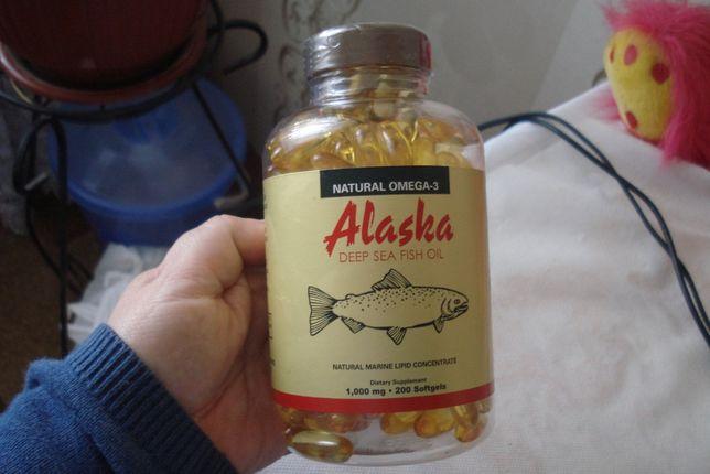Cша-USA- рыбий жир Alaska 200 капсул