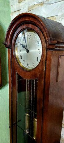 Piękny zabytkowy zegar stojący Peerless baba