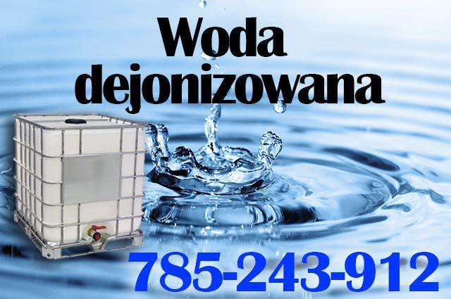 Woda demineralizowana jak dejonizowana do elektrodrążarki, CNC, CO