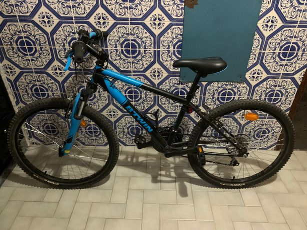 Bicicleta BTT - rodas 24 polegadas(6 aos 12 anos)