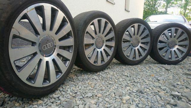 Felgi Audi 19 5x100 5x112 ET35 Opony 255/40 Skoda Seat VW