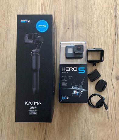 GoPro hero 5 black + stabilizator Gimbal Karma