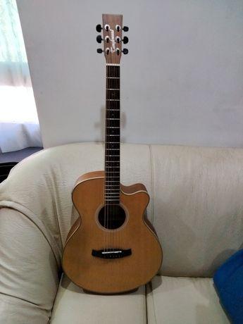 Vendo guitarra, viola com as devidas bolsas