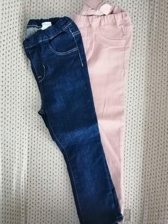 Jeansy, jegginsy, spodnie HM 104