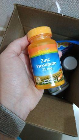 ЦИНК пиколинат 25 мг. - 60т. В НАЛИЧИИ