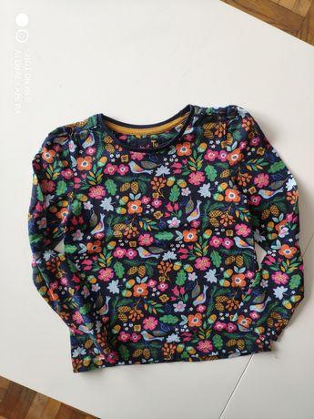 Koszulka bluzka TU roz 110 kwiaty