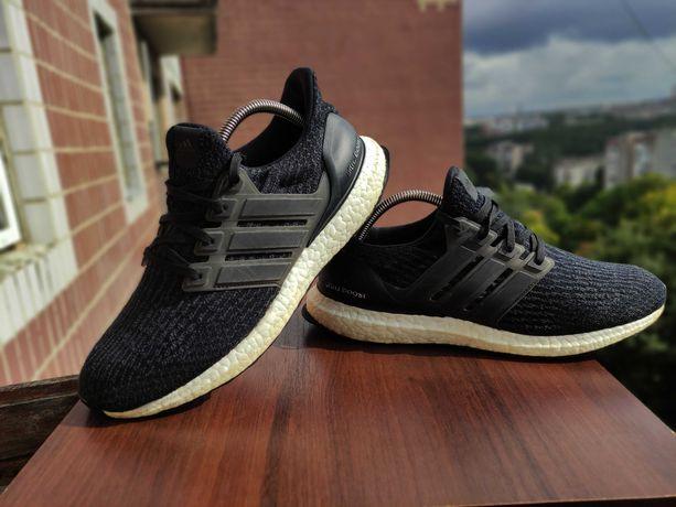 Adidas ultra boost 3.0 core black/ кросівки / кроссовки / 42