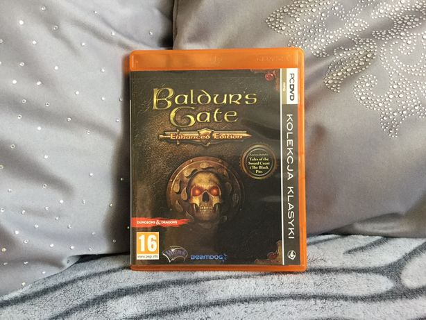 """Gra PC DVD """"Baldur's Gate""""Enhanced Edition"""