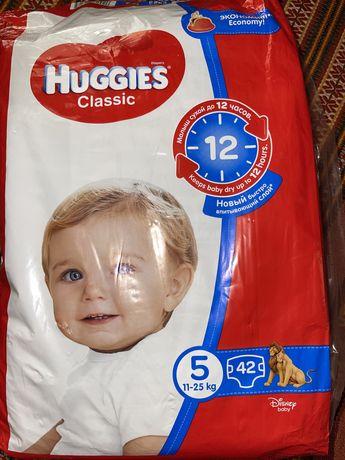 Памперсы Huggies Classic 5 р. (11-25 кг)