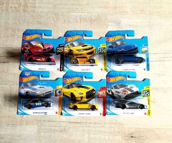 Машинки Hot Wheels BMW Lamborghini Porsche Nissan GT-R [R35] Subaru