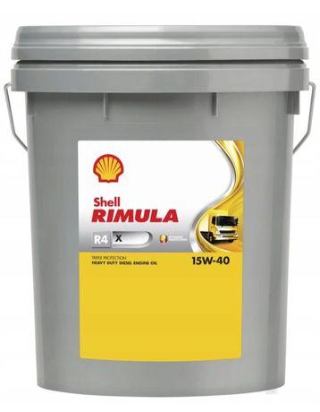 Olej silnikowy Shell Rimula 15w40
