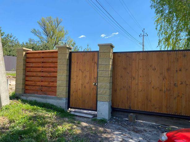Срочно продам дом из сруба с участком 40 соток в Глевахе.