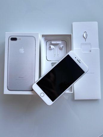 iPhone 7 PLUS 128GB Silver•stan BDB•zadbany
