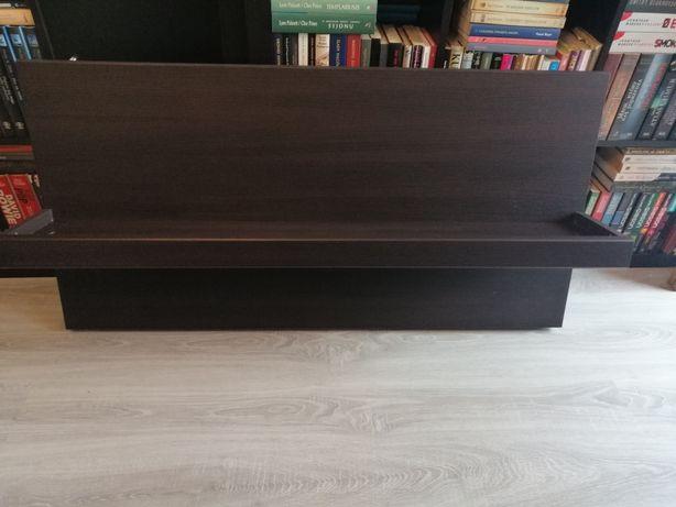 Drewniana półka kolor venge