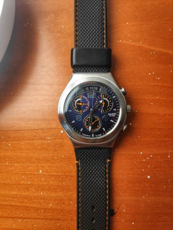 Relógio Swatch irony stainless steel - bom estado