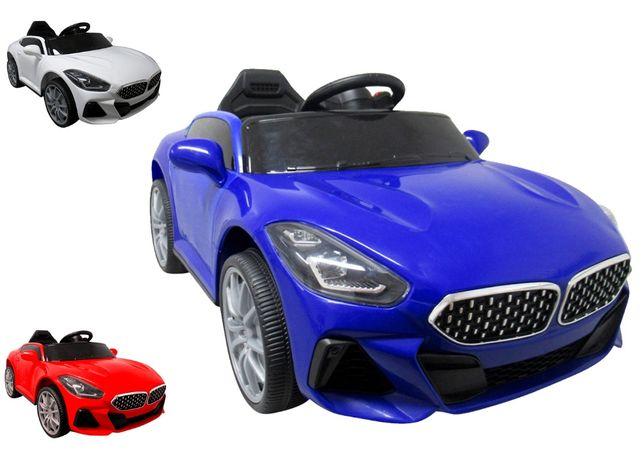 Auto Autko Na Akumulator Funkcja BUJANIA 2x Silnik + Pilot CAŁY ZESTAW