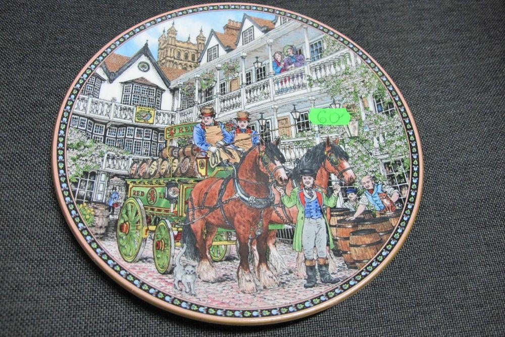Talerz ozdobny Royal Worcester 1995