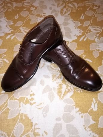 Туфли мужские, кожаные