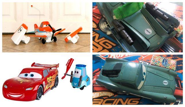 Cars Auta Planes Samoloty Sean Mcmission Mattel zestaw