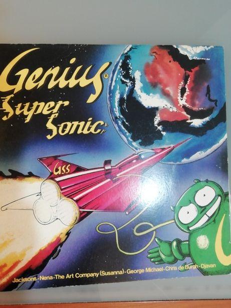 Genius Super Sonic Vinil Como novo!