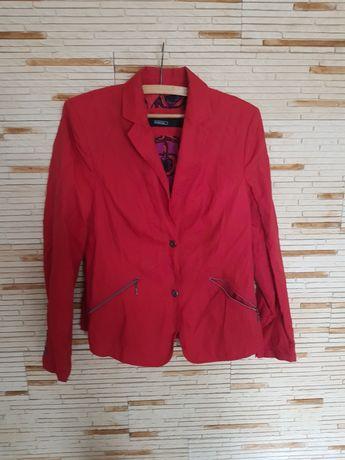 Żakiet damski marki Bianca rozmiar L kolor czerwony