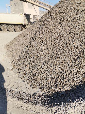 Kruszywo drogowe kliniec 0-32,0-63, tłuczeń grys transport 27 ton