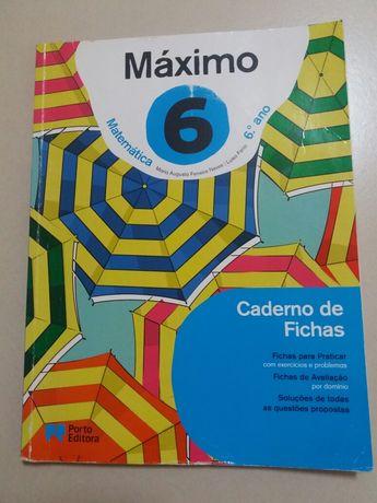 Máximo 6 - Matemática 6° Ano - Caderno de Atividades