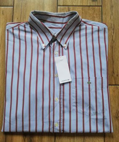 Lacoste oryginalna męska koszula
