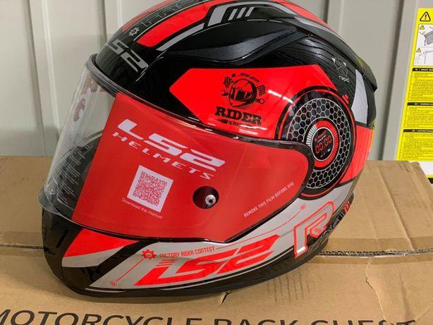 kask motocyklowy LS2 FF353 RAPID STRATUS M L XL nowy fv wysyłka