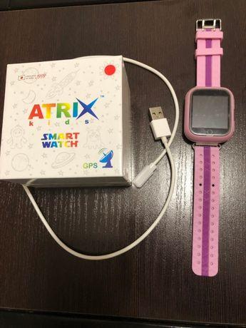 Детские смарт часы Atrix iQ100 Touch, б/у, продам