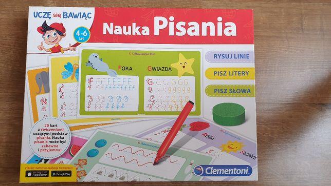 Nauka pisania. Uczę się bawiąc Clementoni