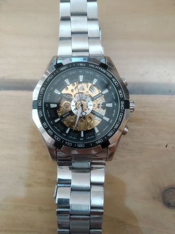 Zegarek męski z mechanizmem automatycznym